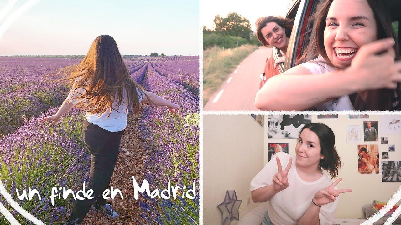 Reencuentro en Madrid 🌇 Campos de lavanda, restaurantes y risas    Yol