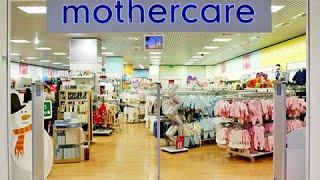 Покупки детской одежды в магазине Mothercare