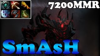 Dota 2 - SmAsH 7200MMR Plays Shadow Fiend vs Arteezy Storm Spirit 7700MMR - Ranked Match Gameplay