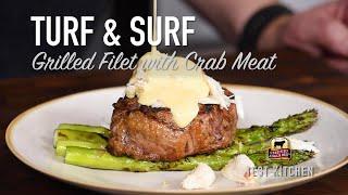 Crab &amp Filet Turf &amp Surf Steak Recipes