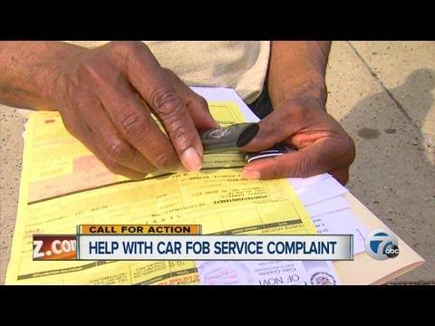 Help with car FOB service complaint