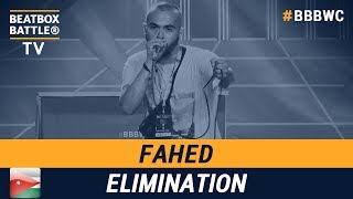 Fahed from Jordan Kingdom - Men Elimination - 5th Beatbox Battle World Championship