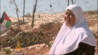 West Bank villagers honor through garden