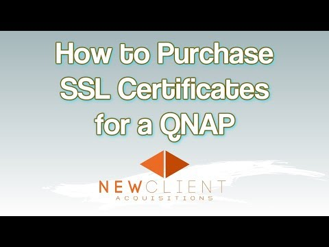 broadbandbuyer - How to purchase SSL certificates for a QNAP