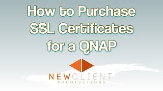 broadbandbuyer - How to purchase SSL certificates for a QNAP - broadbandbuyer