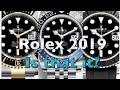 Rolex 2019 Models: is that it?!