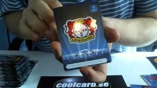 Coolcard öppnar en låda Panini Adrenalyn XL Champions League 2013-14 Nordic Edition