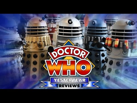 Doctor Who Yesteryear Reviews: The Classic Dalek Figures
