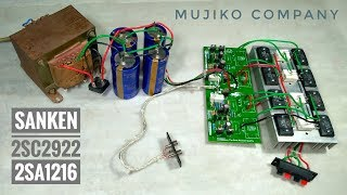 Cara menambah Transistor final pada power amplifier