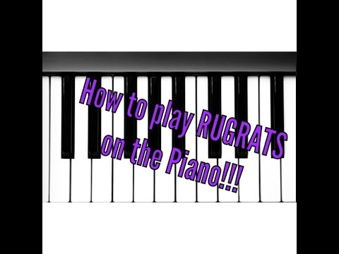 How To Play Rugrats Theme Song On Piano Easy