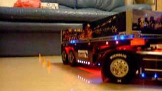 Tamiya Scania R470 parking