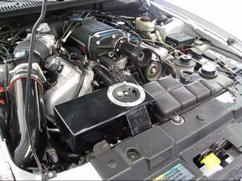 2003 2004 Ford Mustang Cobra LFP Dual Pass Heat Exchanger SVT Stencil Eaton