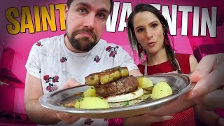 Repas de Saint Valentin pour Valouzz, la meilleure recette de ma chaîne !