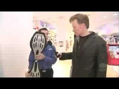 Conan O'Brien at FAO Schwarz