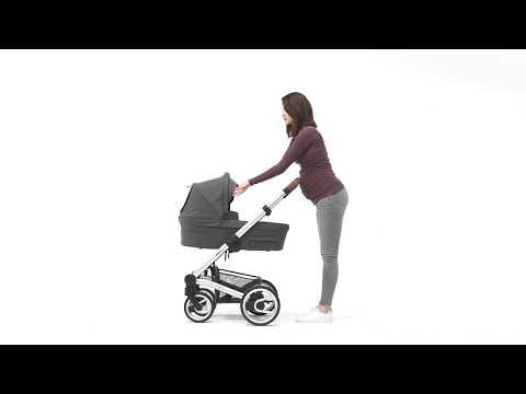 Mutsy Промо пакет Шаси Mutsy Nio Dark Grey+ Кош за новородено и Седалка и сенник Mutsy Nio Inspire Light Shade #rPGQMsk89fI