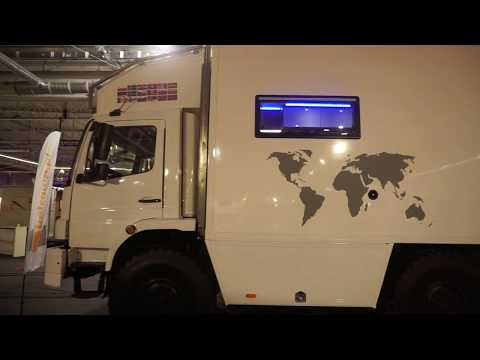 Tour of expedition vehicle designed for Siberia!