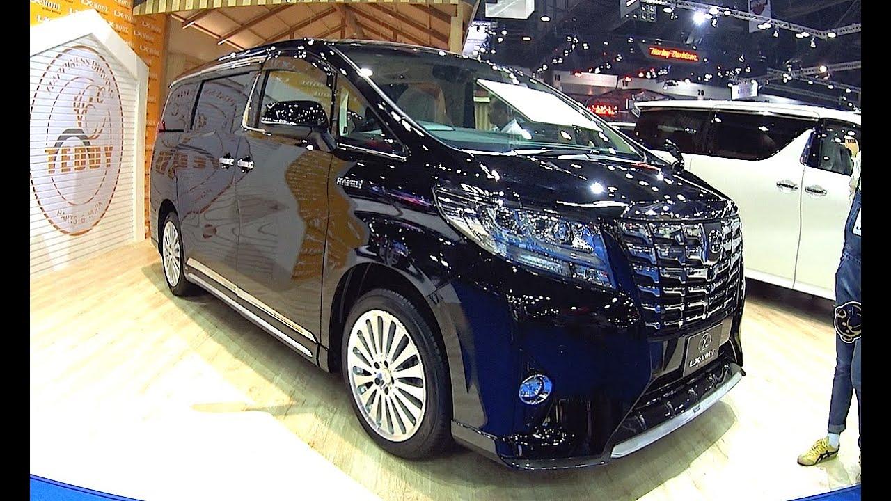 2016 2017 Toyota Alphard Best Luxury Toyota Van 2016