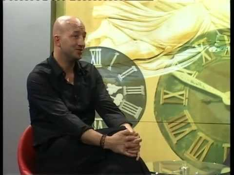 George Galic Tv Interview in Serbia ( tv pancevo ) part one