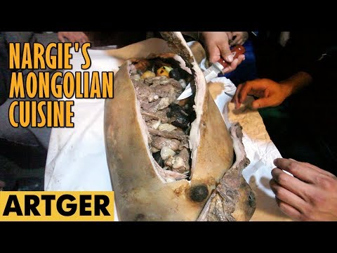 Nargie's Mongolian Cuisine: BOODOG (Real Mongolian Barbeque) S1/E2