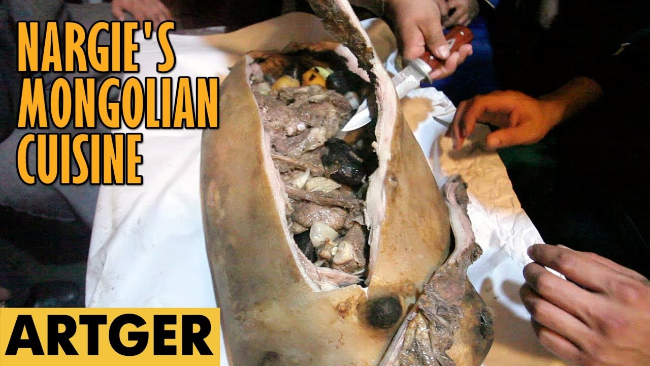 Nargie's Mongolian Cuisine Boodog (real Mongolian