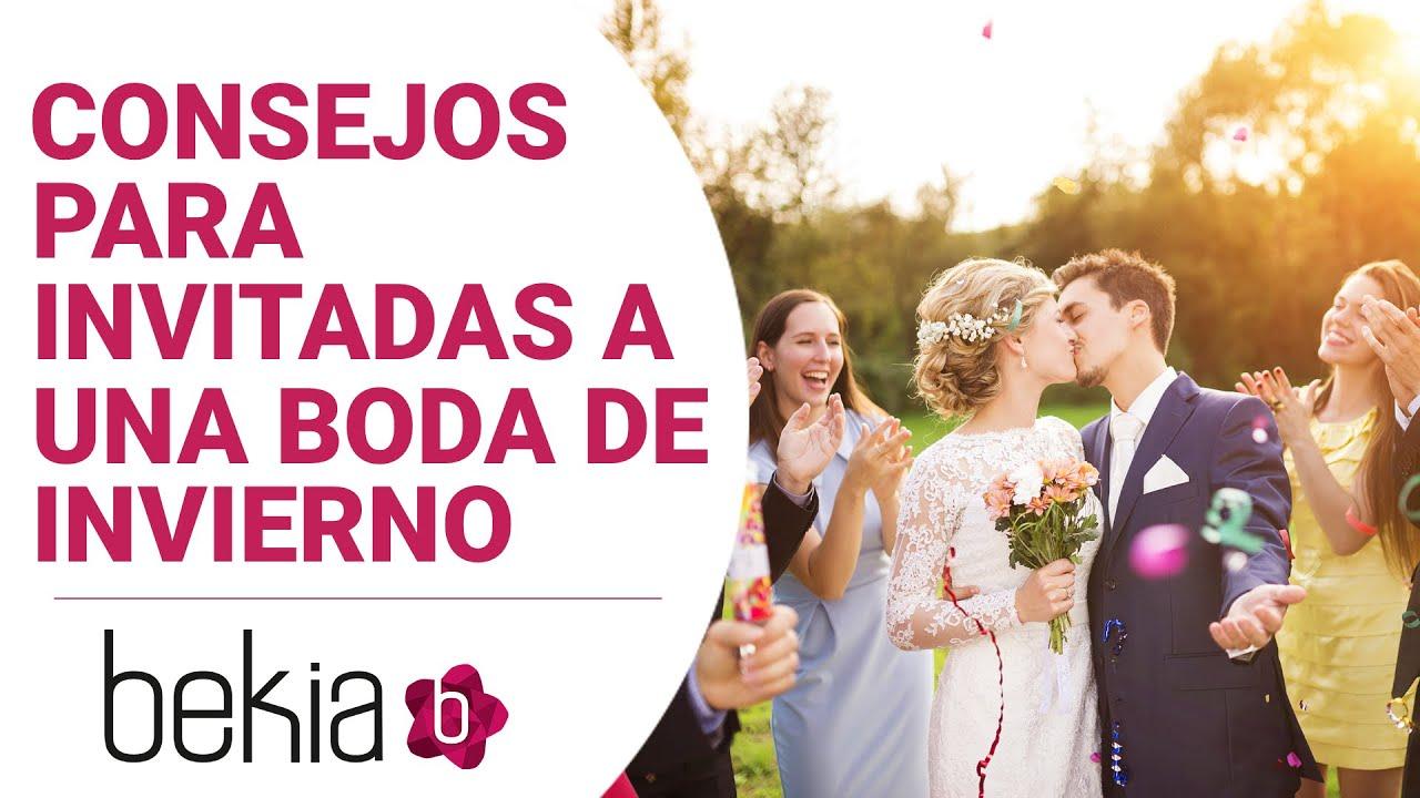 Consejos para invitadas a una boda de invierno youtube - Cosas para preparar una boda ...
