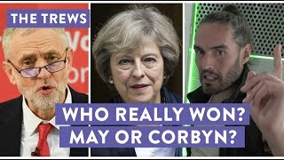 Who Really Won? May Or Corbyn? Russell Brand The Trews (E426) thumbnail
