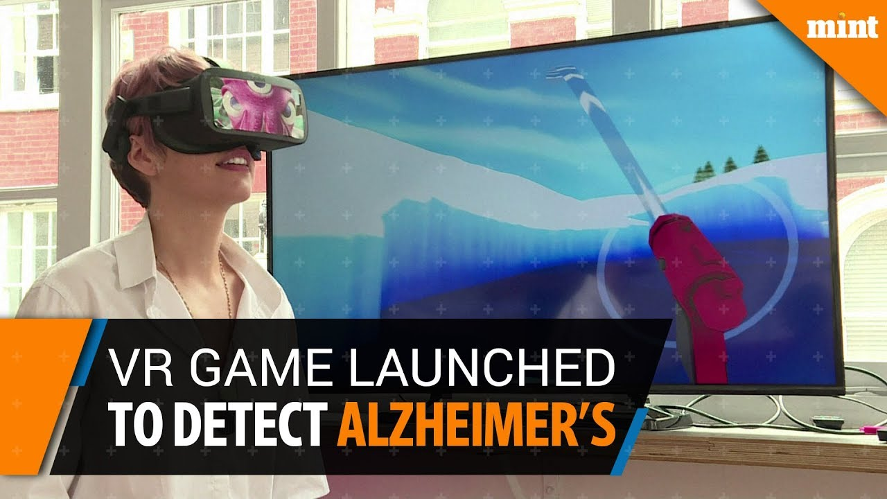 Scientists launch virtual reality game to detect Alzheimer's