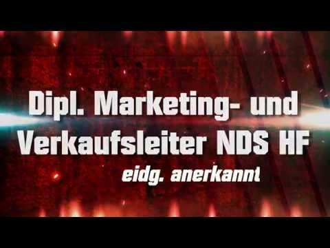 Dipl. Marketing und Verkaufsleiter NDS HF (eidg. anerkannt)