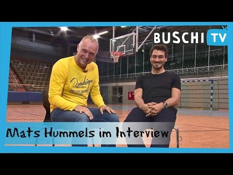 Mats Hummels im exklusiven Interview | Buschi.TV