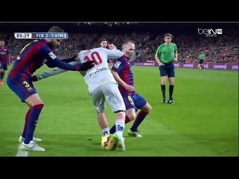 Arda Turan vs Barcelona (Away) (11/01/2015) 720p HD by EC17