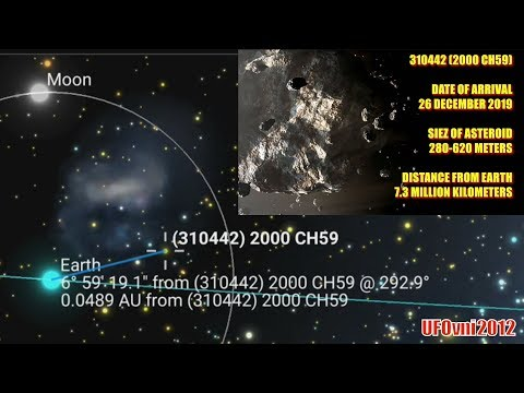 Asteroid Alert: NASA Spot 620m Behemoth Space Rock Set to Pass Earth on Boxing Day