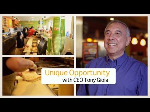 Why Togo's is a unique franchising opportunity with CEO Tony Gioia