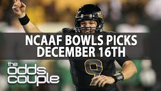 The Odds Couple I College Football Bowls Picks I December 16th