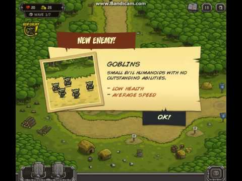Игра Защита королевства онлайн Kingdom Rush играть