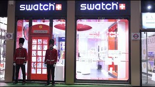 SWATCH 2018 BRIT-IN STORE EVENT - MILANO