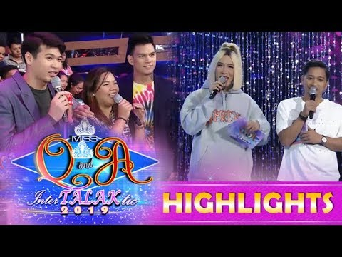 It's Showtime Miss Q & A: Vice meets the daughter of his classmate in college thumbnail