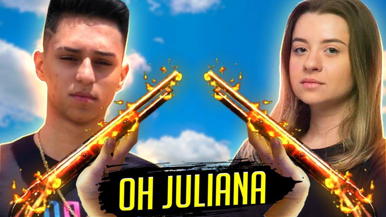 OH JULIANA ♫  TUTS TUS QUERO VER - FUNK NOBRU - FREE FIRE