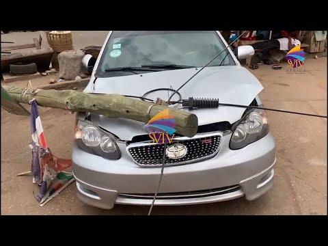 Car Crashed By Vodafone Internet Pole; Vodafone Tells Owner To Fix Himself