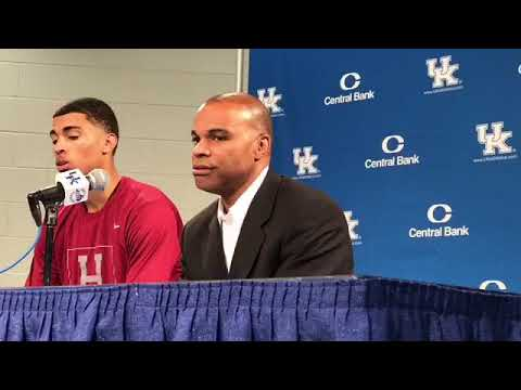Harvard Coach Tommy Amaker on Loss at Kentucky
