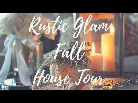 Fall Rustic Glam Home Tour