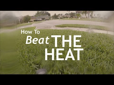 Summer Lawn Heat Wave Tips | Lawn Cooling | Water Your Way Through