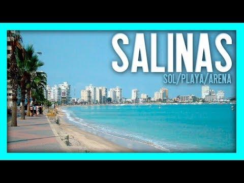 PLAYA, SOL Y ARENA (SALINAS ECUADOR)