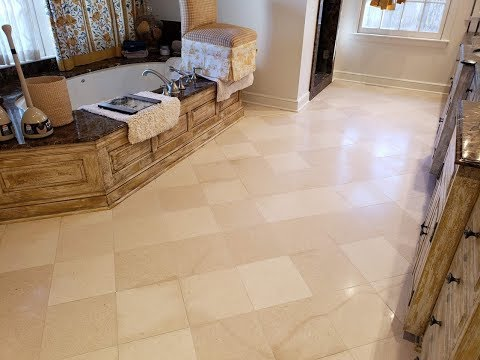 Marble Tile Floor Cleaning & Polishing in Tulsa