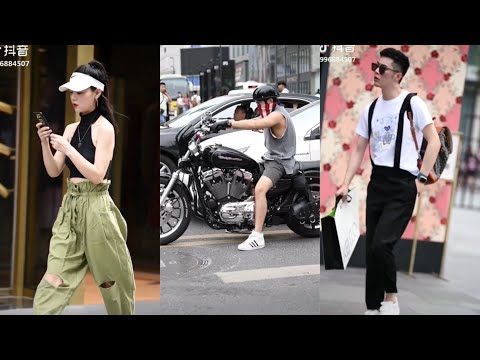 Fashion Style On The Street In China