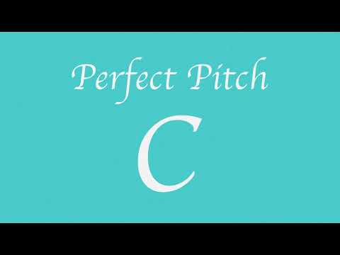 Perfect Pitch C (New)