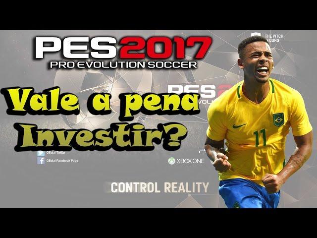 PES 2017 myClub - Gabriel Jesus, vale a pena investir? (Combinção de olheiros)?