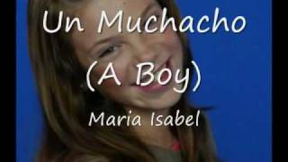 Video Un Muchacho Maria Isabel
