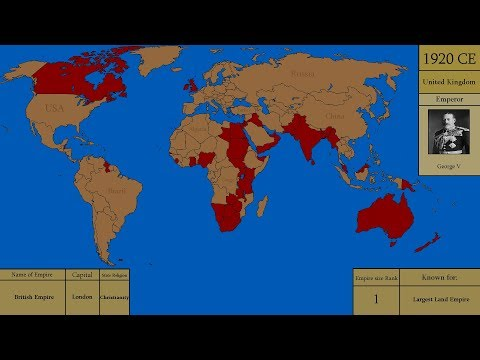 Countries of the WORLD at their GREATEST extent.