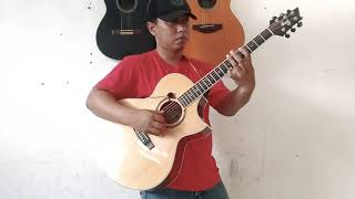 INDONESIA PUSAKA cipt. Ismail Marzuki.// fingerstyle cover