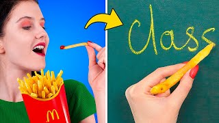 9 DIY Weird College Supplies / Life is Hard When You Are on a Diet